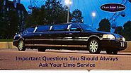 Important Questions You Should Always Ask Your Limo Service