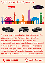 Book Limo Service for San Jose