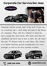 Corporate Car Services San Jose