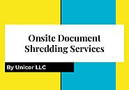How to choose the best on-site paper shredding services near me?