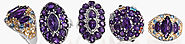 Find Stunning African Amethyst Jewelry at Shop LC