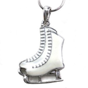 Amazon.com: White Figure Skating Ice Skates Necklace Pendant Charm Girls Teens Women Ladies Enamel Fashion Jewelry: J...