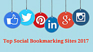 Top Social Bookmarking Sites 2017, Top 10 Social Bookmarking site List