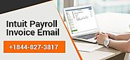 Intuit Payroll Invoice Email - Setup, Sending , Issues , Problems
