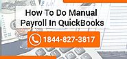 How to do Manual Payroll in QuickBooks ? -Set up Payroll QB Desktop