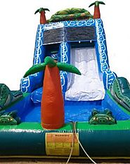 Make the Kids Birthday Party More Eventful With Renting Of Water Sliders