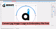 Convert Jpg Image or Logo to Embroidery File Free