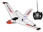Megatech Interceptor 2-Channel Electric Radio Control Aerobatic Jet-Red #MTC9601