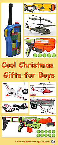 Boys Cool Christmas Gifts - Shopping is such a fun experience because of all the cool Christmas gifts for boys that y...