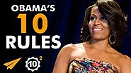 """The ONLY Way You SUCCEED is by FAILING!"" - Michelle Obama (@MichelleObama) - Top 10 Rules"