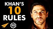 Shah Rukh Khan's Top 10 Rules For Success (@iamsrk)