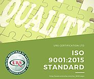 ISO 9001:2015 Certification Quality Management System QMS