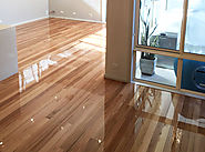 High quality timber floor polishing services