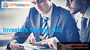 Find highly Believable and Targeted Mailing List based on Investors