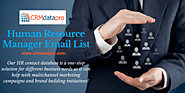 Use Human Resources Email Database to Add Value to Your Campaigns