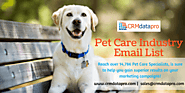 Increase Sales and ROI with Pet Care Email Database
