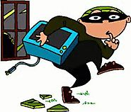 Absence of equipment security makes easy for burglars to work