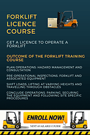 Forklift Licence Course