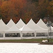 Tent rental Miami tents with side walls