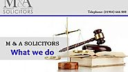 M and A SOLICITORS What we do by M & A Solicitors - Dailymotion
