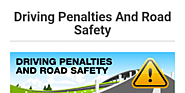 Driving Penalties And Road Safety by M & A Solicitors - Infogram