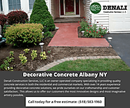 Decorative Concrete Services by Denali Construction