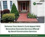 Enhance Your Home's Curb Appeal With Stamped Concrete Services