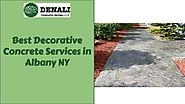 Best Decorative Concrete Services in Albany, NY