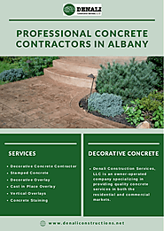 Professional Concrete Contractors In Albany