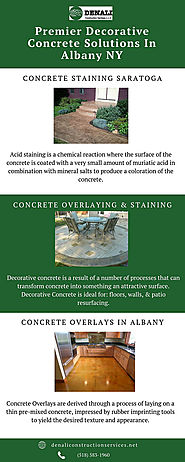 Premier Decorative Concrete Solutions In Albany NY