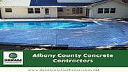 Albany County Concrete Contractors
