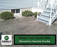 Decorative Concrete Overlay – Denali Construction