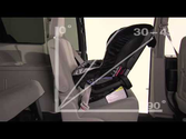 BRITAX G3 Convertible Car Seats: Rear Facing Installation using the Lap Belt Only