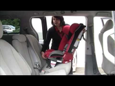 Install Diono Radian® Car Seat Rear-facing with Lap/Shoulder Belt
