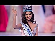 India's Manushi Chhillar crowned Miss World 2017 - Miss World Pageant
