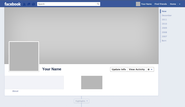 Facebook Timeline Template 2013 With Downloadable PSD - CT Social