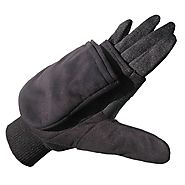 Gloves with built-in heat warmers