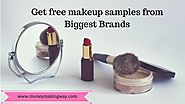 Big Brands and Retail stores that offer free makeup samples - Money Making Way