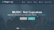 Stagecrush - The Home For Your Online Music Collection