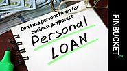 Can I use personal loan for business purposes? | Finbucket