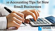 10 Accounting Tips for New Small Businesses | Impanix