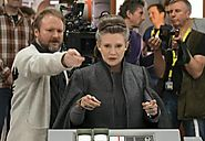 Carrie Fisher helped rewrite the script