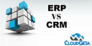 What is The Difference Between CRM and ERP? | Cloudgeta |