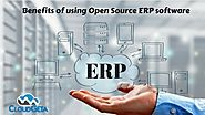Benefits of using Open Source ERP software | CloudGeta