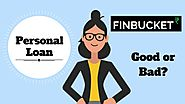 Personal loan: good or bad? - FINBUCKET- Loan application