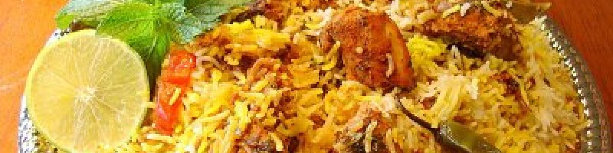 Headline for Kinds of Indian Biriyani You Can Try in Chennai - Tickle Your Taste Buds in Tamil Nadu