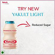 Yakult, India - Yakult Light with reduced sugar contains...