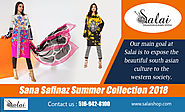 Sana Safinaz Summer Collection 2018