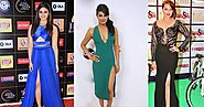 Bollywood Celebs Wore Thigh High Slit Dress & Set The Temperature Soaring