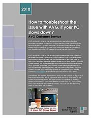 Troubleshoot the issue with AVG antivirus